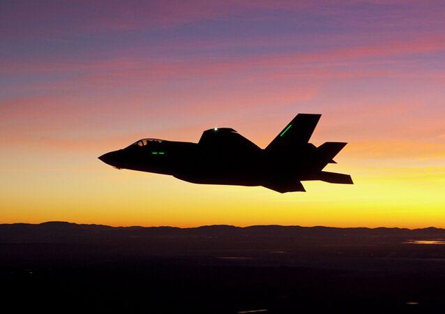 Un F-35. Image d'illustration