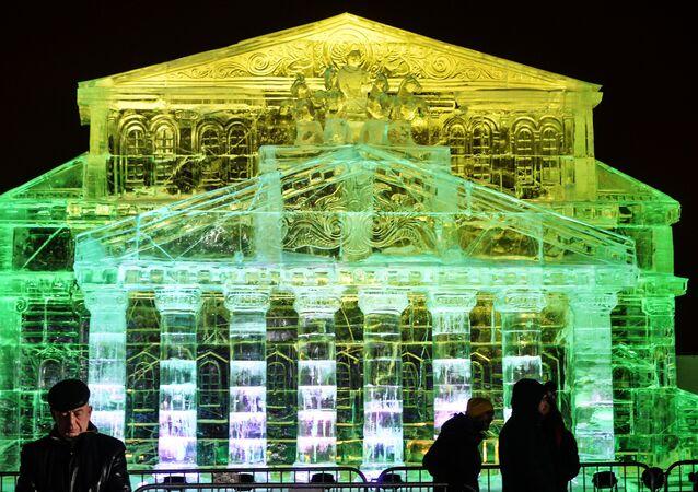 Moscou en glace