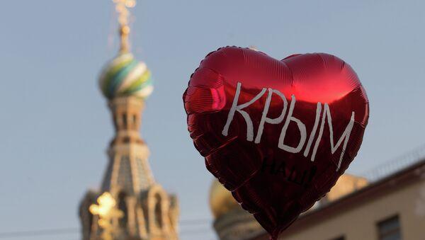 Sondage: plus de 90% des Criméens s'estiment russes - Sputnik France