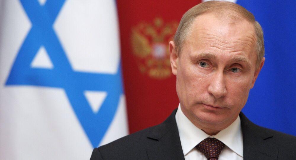 Vladimir Poutine lors d'une rencontre avec Benyamin Netanyahou