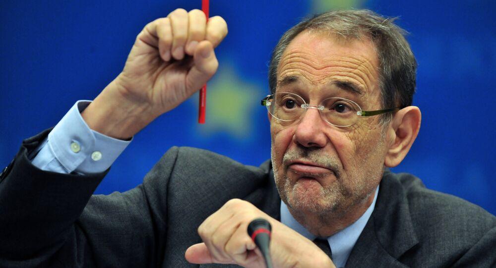 Javier Solana, ex-secrétaire général de l'Otan