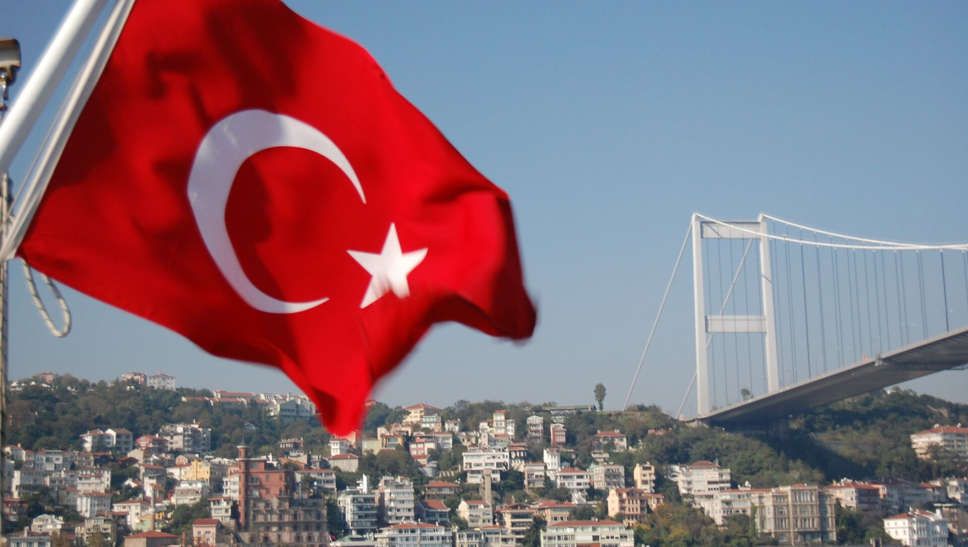 Un drapeau turc - Sputnik France, 1920, 08.08.2021