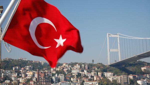 Un drapeau turc - Sputnik France