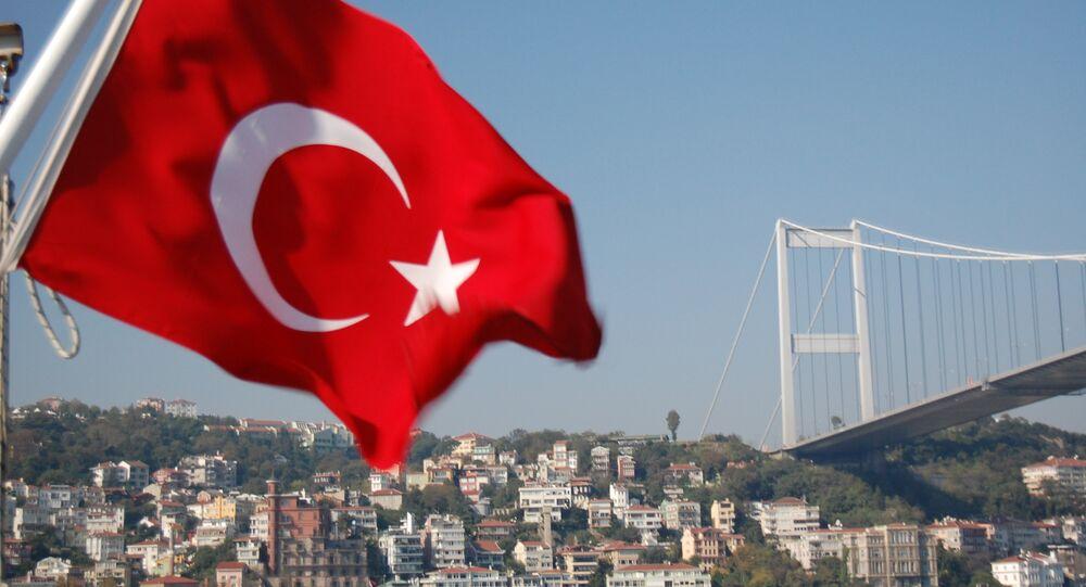 Un drapeau turc