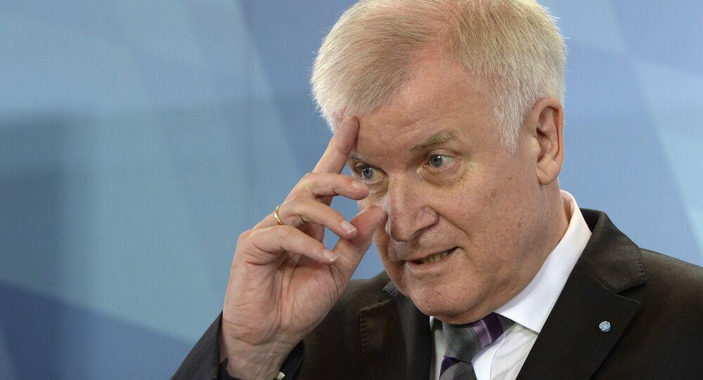 Le ministre de l'Intérieur allemand, Horst Seehofer