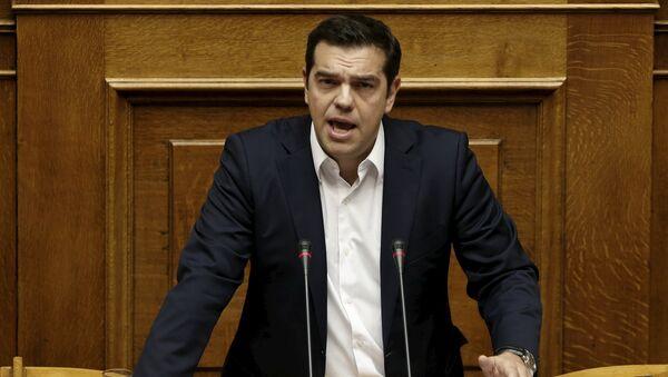 Le premier ministre grec Alexis Tsipras - Sputnik France