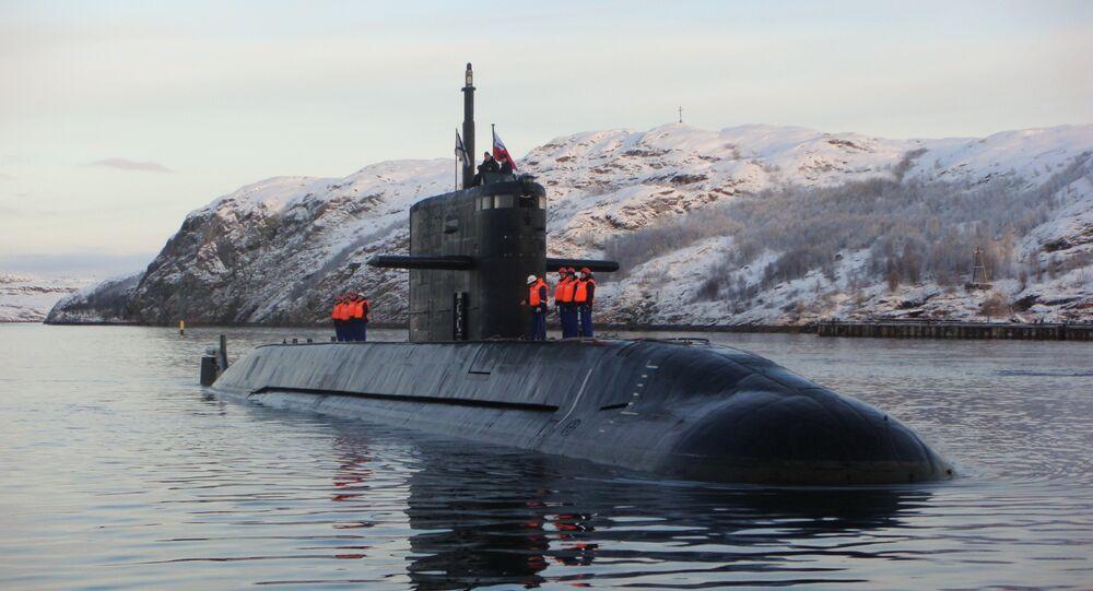 Le sous-marin russe Saint-Pétersbourg du projet Lada