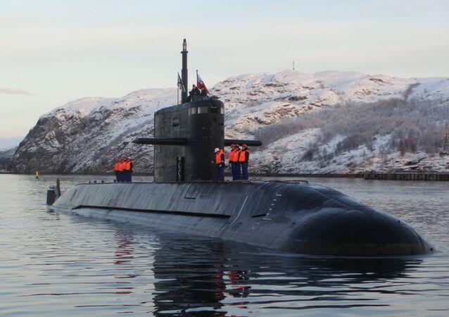 Le sous-marin russe Lada.