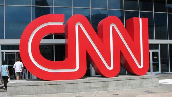 Logo du CNN. Image d'illustration - Sputnik France