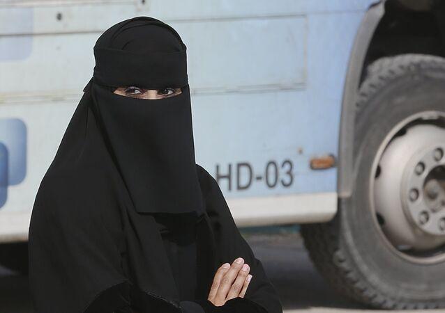 Une femme saoudienne