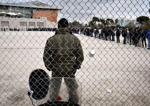 Centre d'accueil de migrants