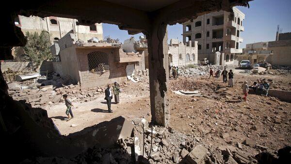 Yémen après bombardements - Sputnik France