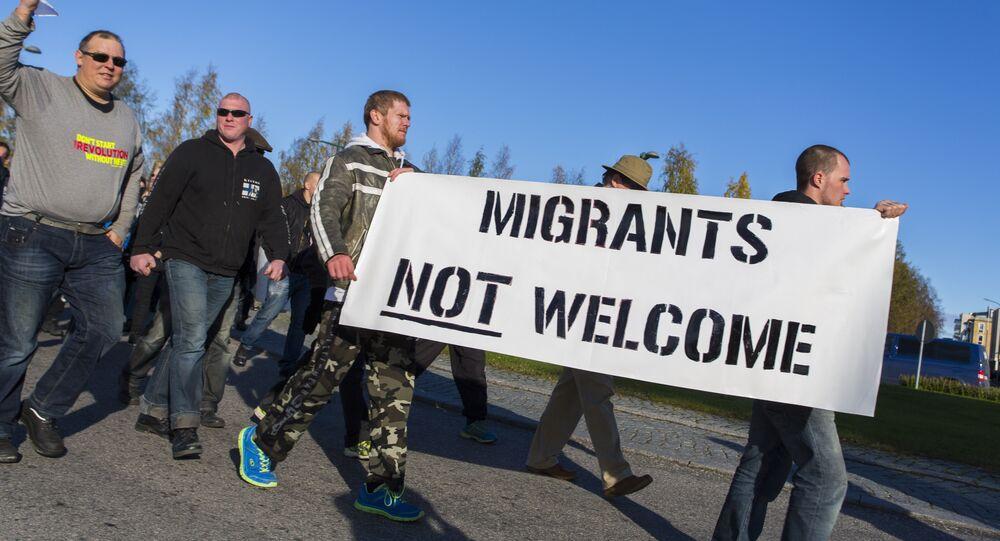 Protestations anti-migration