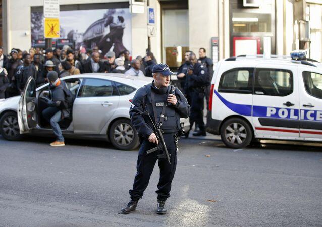 Lugar donde policía francesa mató a un hombre armado