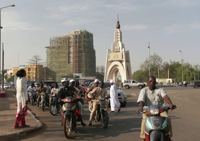 Mali's capital, Bamako