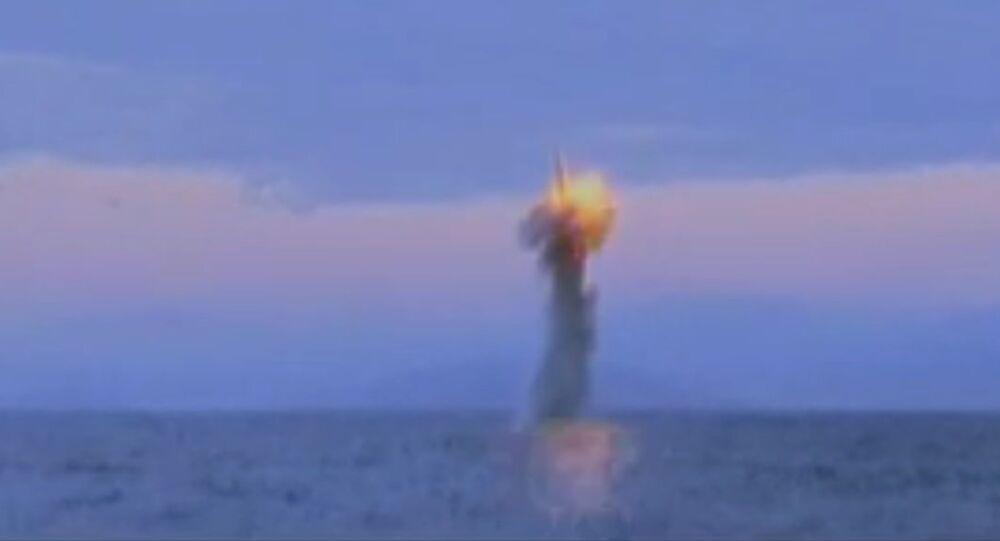 Test de missile nord-coréen (archives)