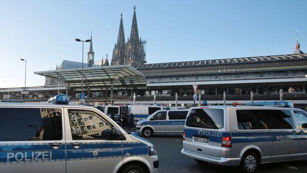 Une véhicule de police à Cologne - Sputnik France