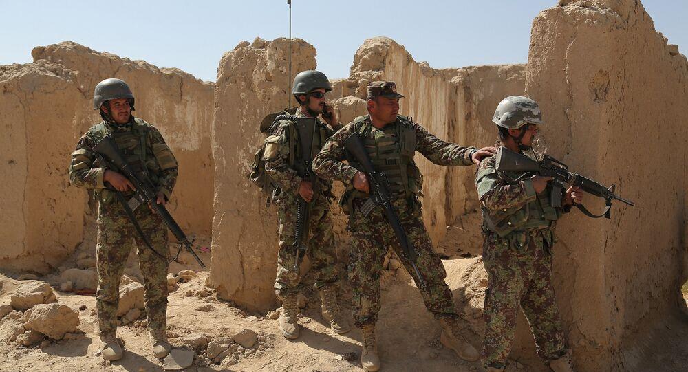 L'Armée nationale afghane (ANA)