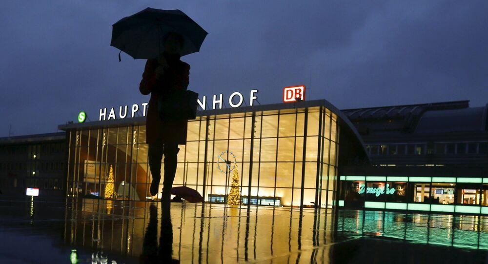 La gare centrale de Cologne