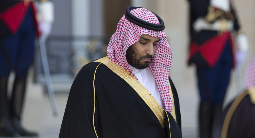 Le vice-prince héritier et ministre saoudien de la Défense Mohammed ben Salmane