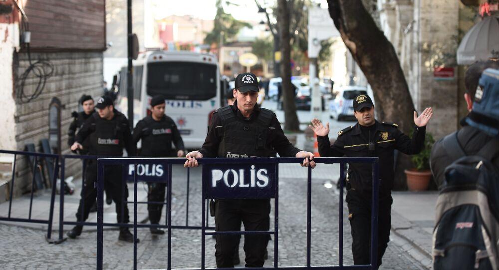 explosion dans le centre d'Istanbul, en Turquie