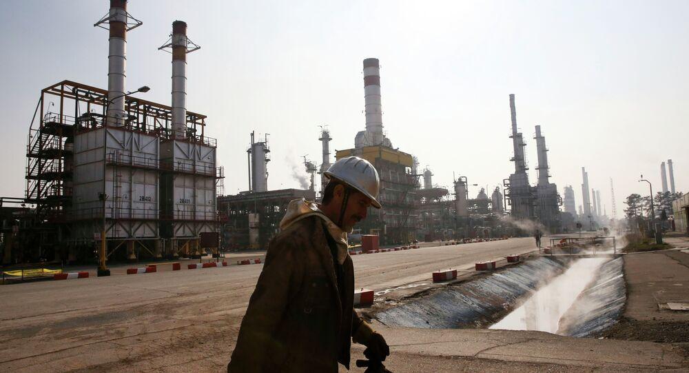 La raffinerie de Téhéran située dans le sud de la capitale iranienne