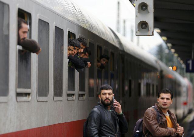 Des migrant en Allamagne