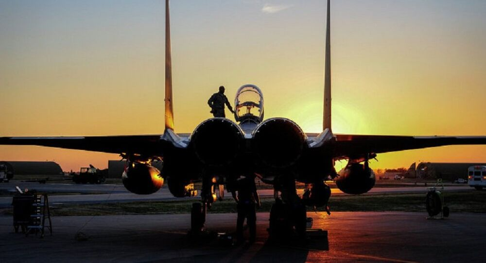 F-15E Strike Eagle. Archive photo