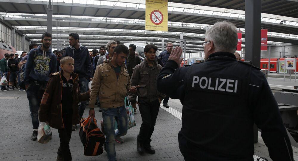 Réfugiés à Munich