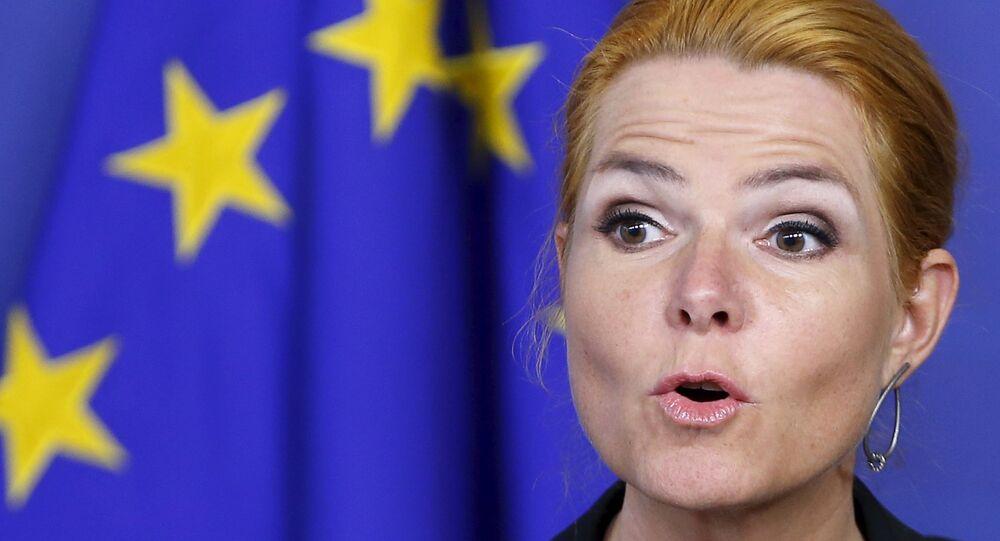 Danish Immigration and Integration Minister Inger Stojberg