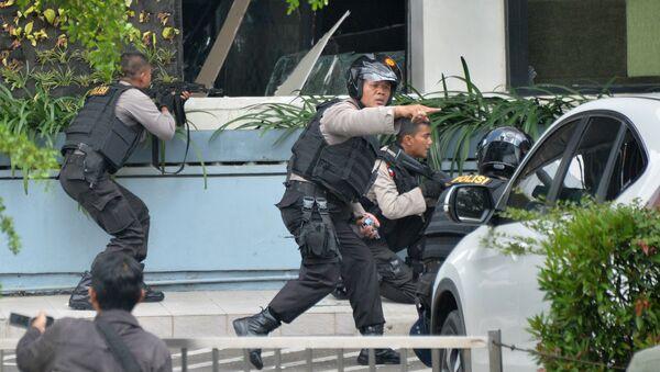 Explosions terroristes à Jakarta - Sputnik France