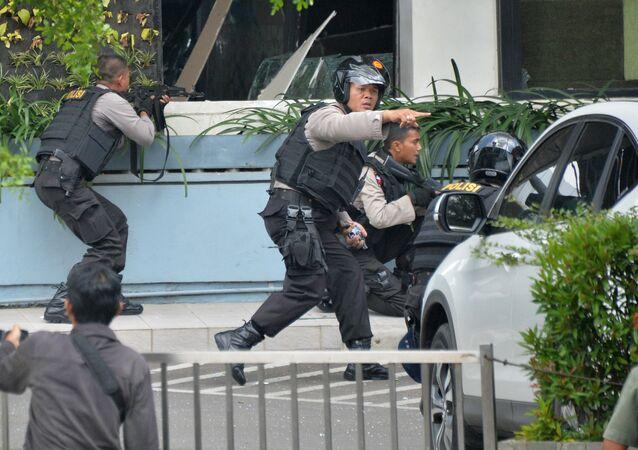 Explosions terroristes à Jakarta