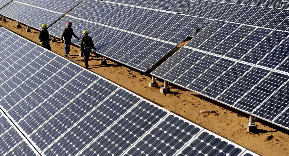 Panneaux solaires en Chine
