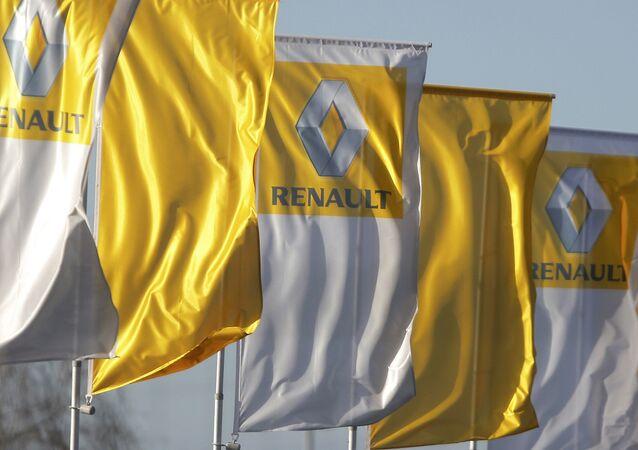 Le groupe Renault à Stasbourg