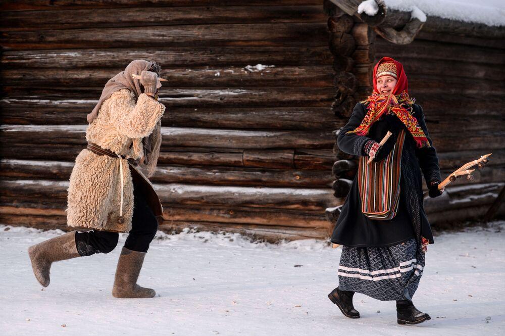 Les fêtes de svyatki en Russie