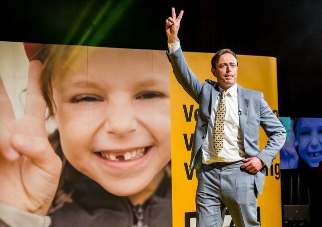 Président du parti politique N-VA (Alliance néo-flamande) Bart De Wever. Archive photo
