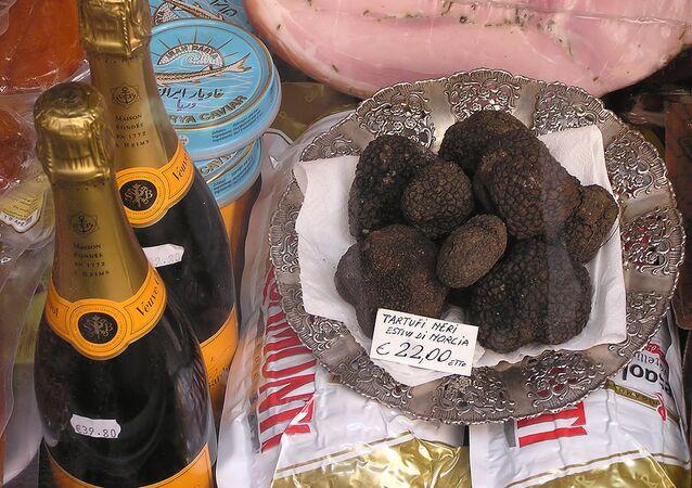 Des truffes noires