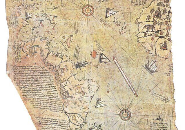 La carte de Piri Reis