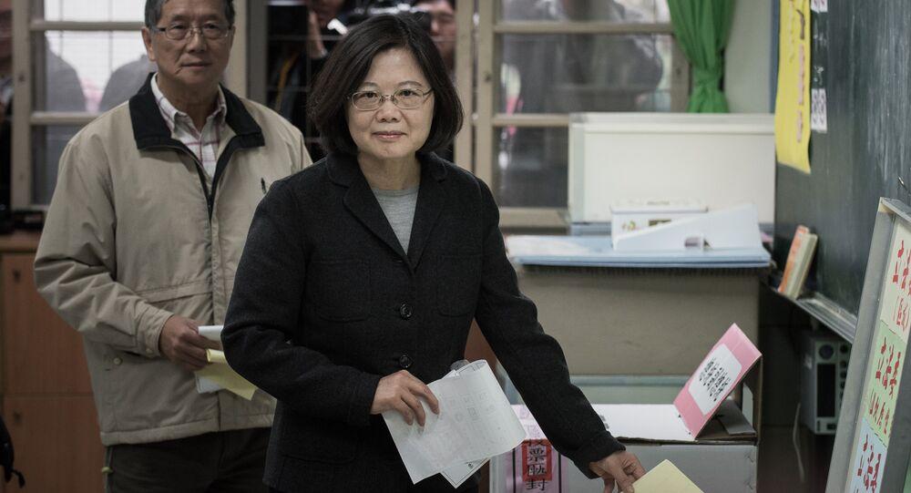 L'élection présidentielle taïwanaise de 2016