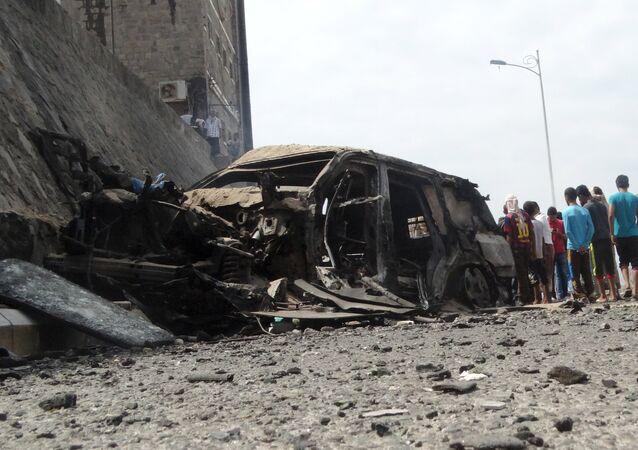 Attentat suicide au Yémen