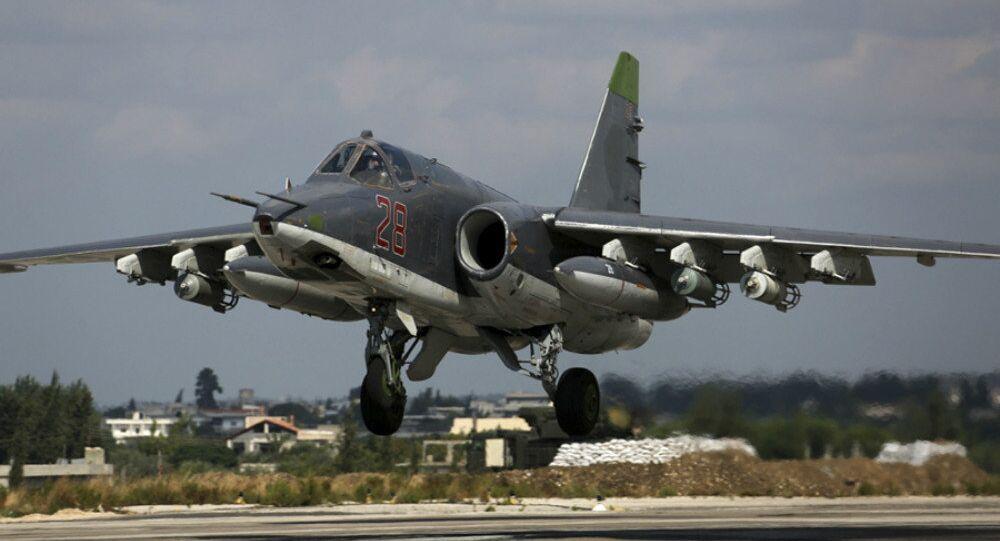 Su-25 russe en Syrie