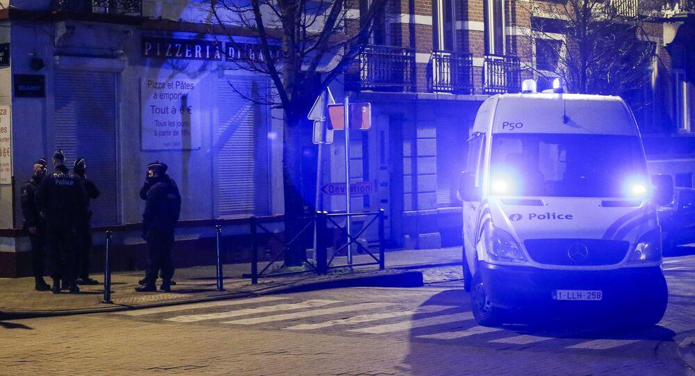 Police belge. Image d'illustration