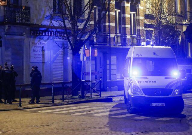 La police belge