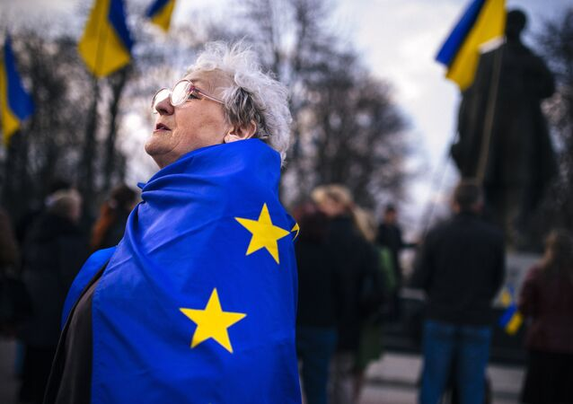 rassemblement pro-Ukraine, Lougansk