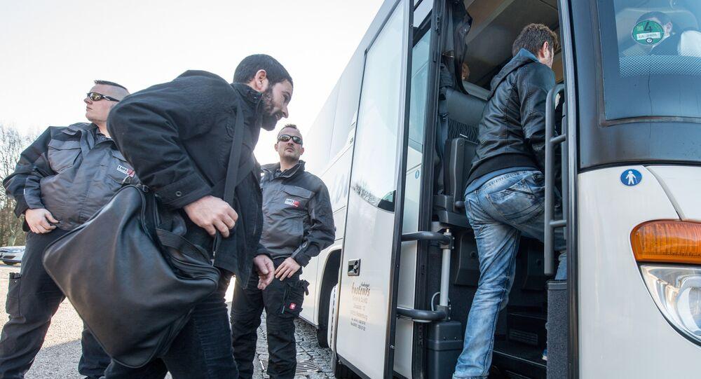 L'Allemagne va bientôt expulser du pays les demandeurs d'asile qui ont demandé le statut de réfugié. Image d'illustration