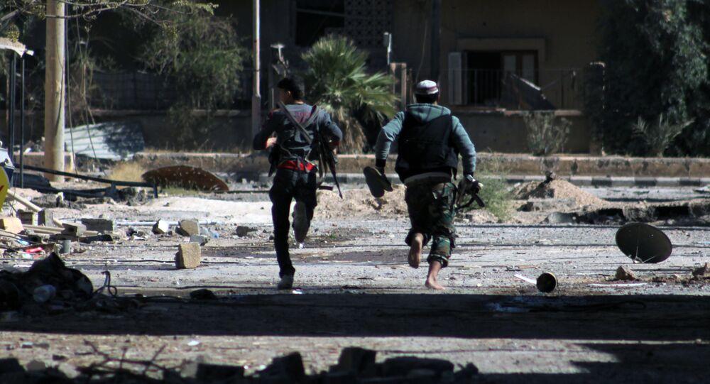 Les combattants rebelles, Deir ez-Zor