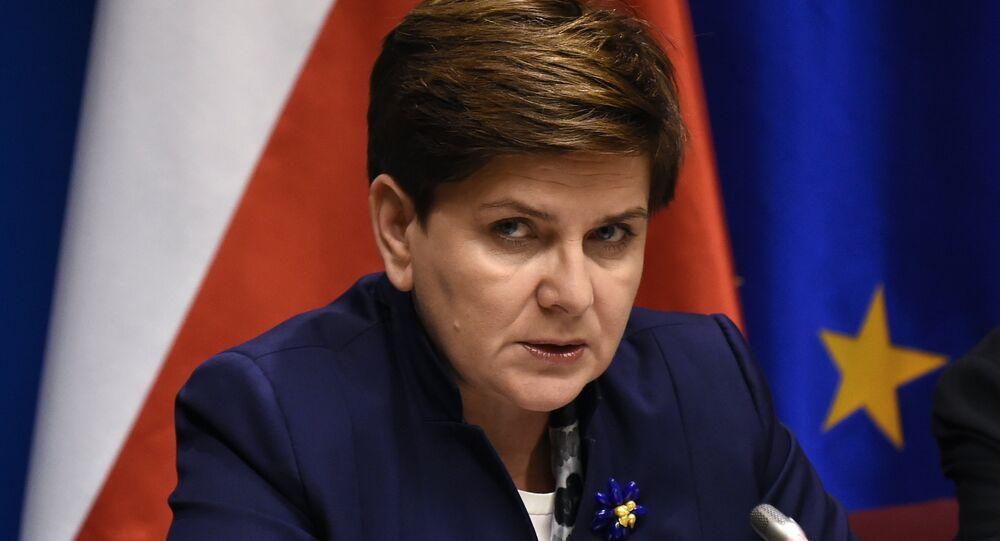 La Première Ministre de Pologne Beata Szydło