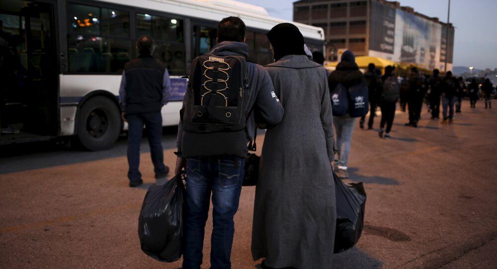Réfugiés à Athènes