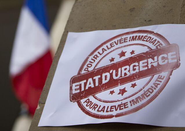 l'état d'urgence en France