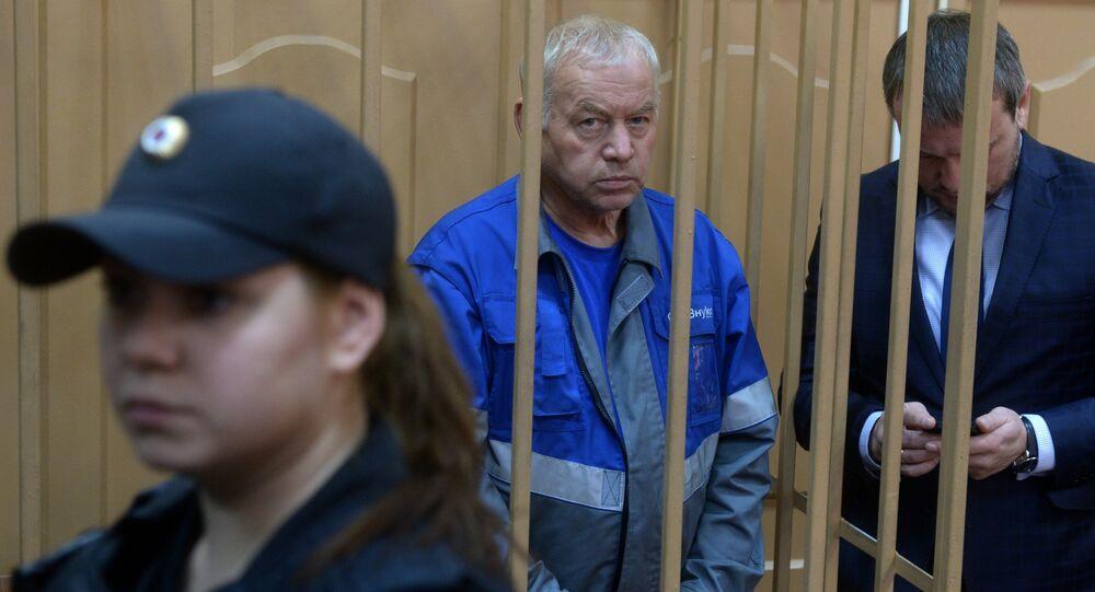La session du tribunal sur le cas de Vladimir Martynenko